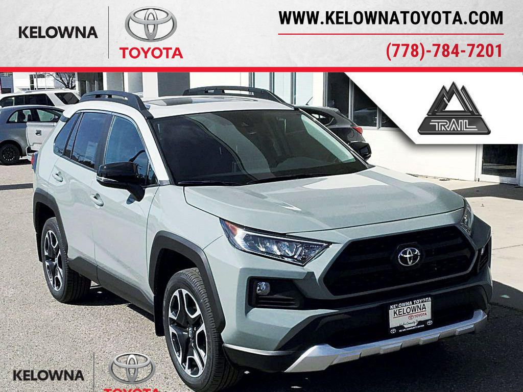 Gray[Lunar Rock/Ice Edge Roof] 2021 Toyota RAV4