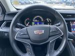 White[Crystal White Tricoat] 2019 Cadillac XT5 Luxury Steering Wheel and Dash Photo in Calgary AB