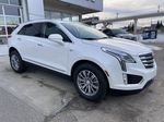 White[Crystal White Tricoat] 2019 Cadillac XT5 Luxury Right Front Corner Photo in Calgary AB
