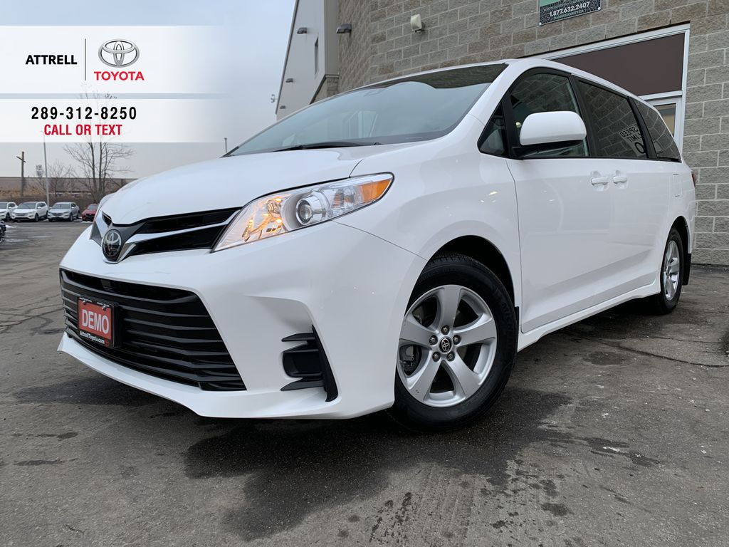 White[Super White] 2020 Toyota Sienna FWD LE Standard Package KZ3DCT AL
