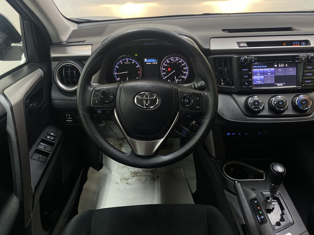 GREY 2017 Toyota RAV4 LE -  Remote Start, Backup Camera, Bluetooth Strng Wheel: Frm Rear in Edmonton AB