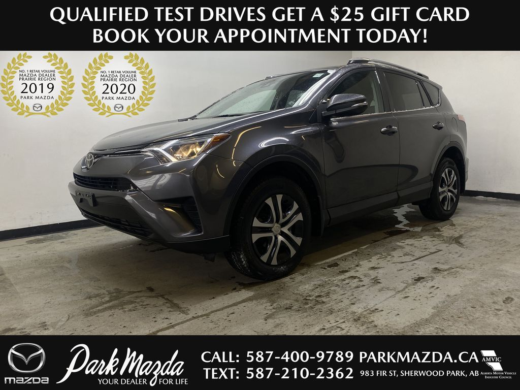 GREY 2017 Toyota RAV4 LE -  Remote Start, Backup Camera, Bluetooth