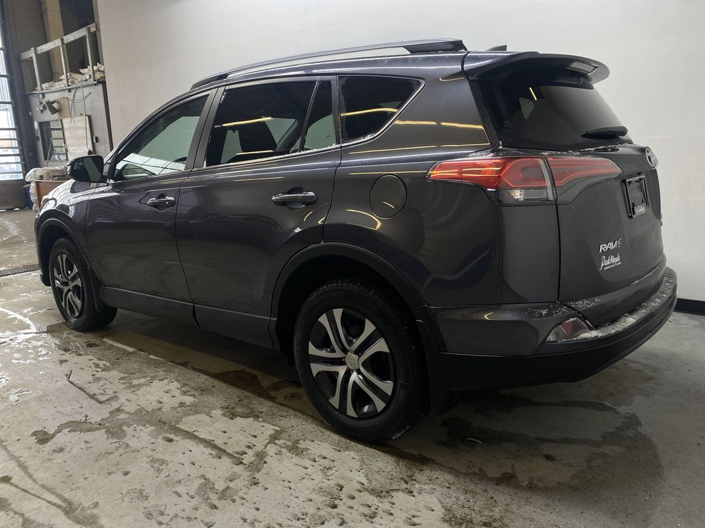 GREY 2017 Toyota RAV4 LE -  Remote Start, Backup Camera, Bluetooth Left Rear Corner Photo in Edmonton AB