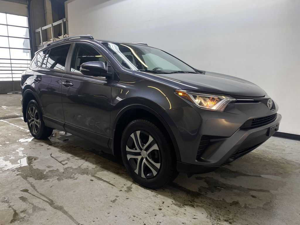 GREY 2017 Toyota RAV4 LE -  Remote Start, Backup Camera, Bluetooth Right Front Corner Photo in Edmonton AB