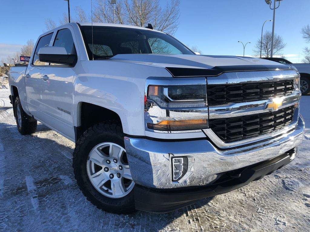 White[Summit White] 2018 Chevrolet Silverado 1500
