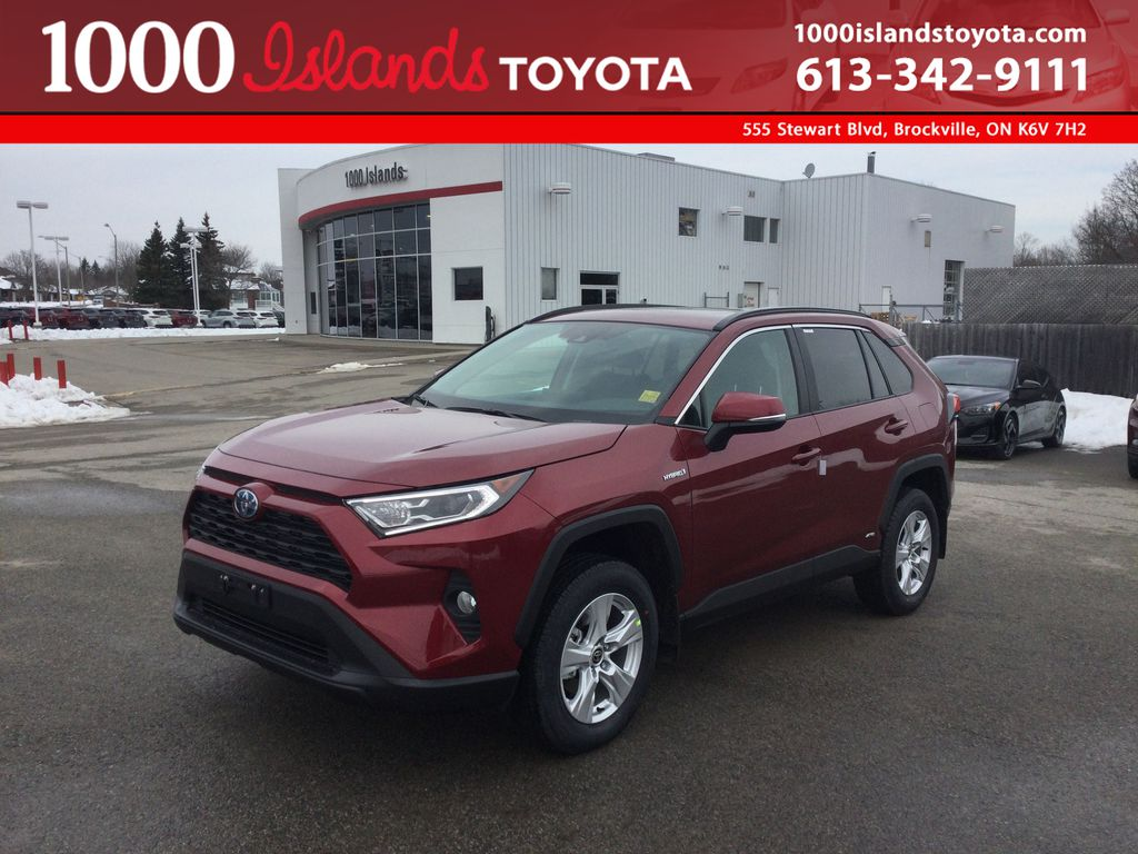 Red[Ruby Flare Pearl] 2021 Toyota RAV4