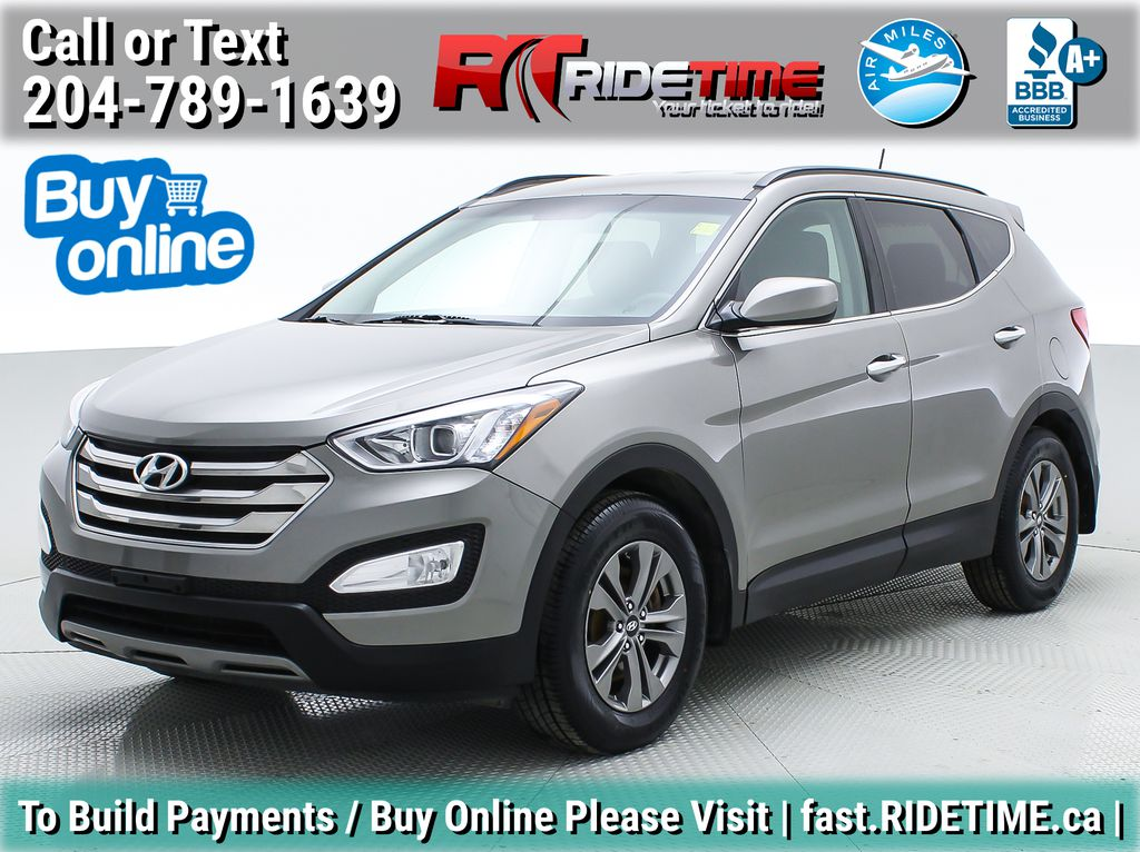 Silver[Titanium Silver] 2015 Hyundai Santa Fe Sport Base - Bluetooth, Heated Seats, Alloys