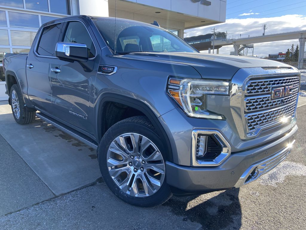 Gray[Satin Steel Metallic] 2021 GMC Sierra 1500 Denali