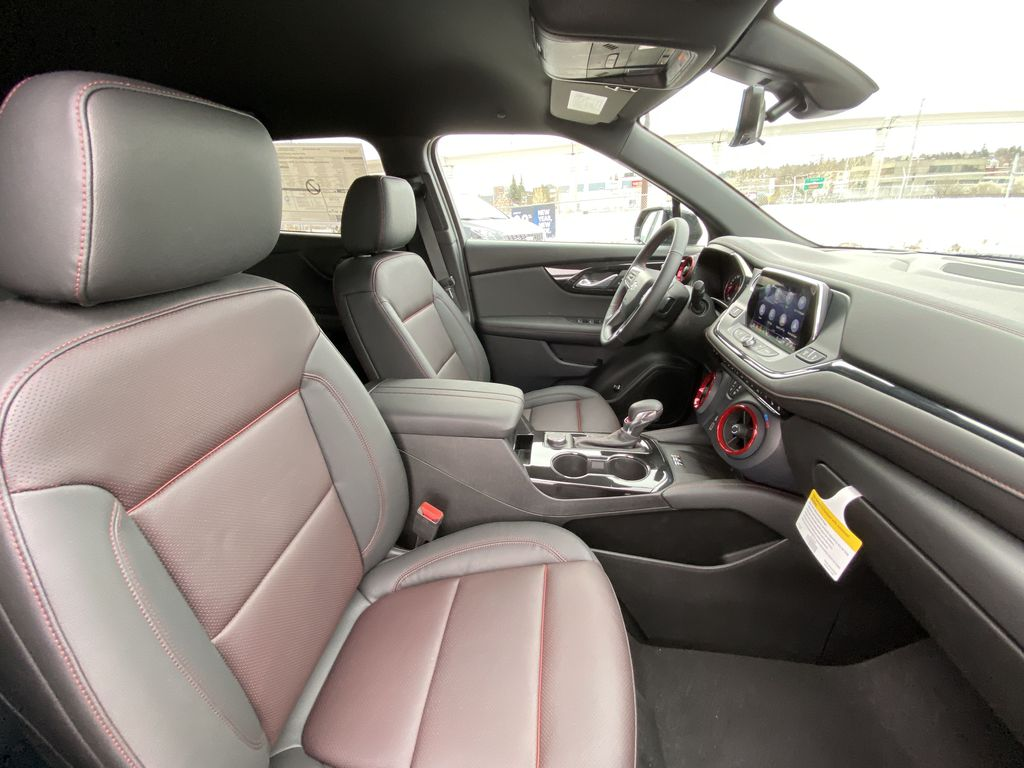 Black[Black] 2021 Chevrolet Blazer RS Right Side Front Seat  Photo in Calgary AB