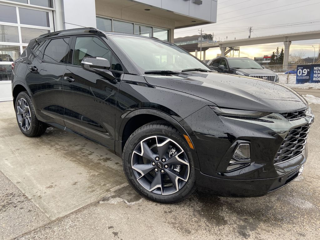Black[Black] 2021 Chevrolet Blazer RS