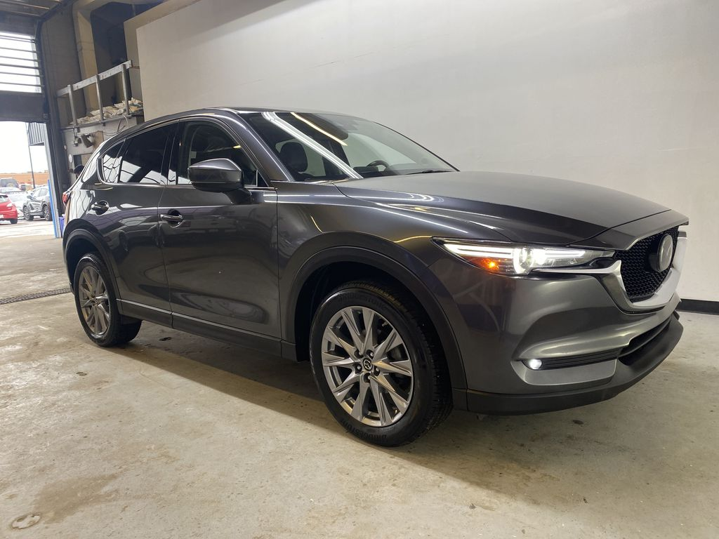 D.GREY 2019 Mazda CX-5 GT - Apple CarPlay, Heated/Cooled Seats, Leather Right Front Corner Photo in Edmonton AB