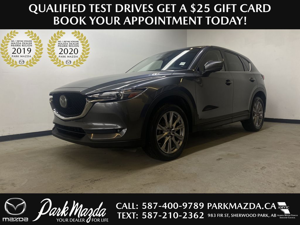 D.GREY 2019 Mazda CX-5 GT - Apple CarPlay, Heated/Cooled Seats, Leather