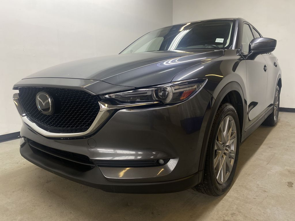 D.GREY 2019 Mazda CX-5 GT - Apple CarPlay, Heated/Cooled Seats, Leather Left Front Head Light / Bumper and Grill in Edmonton AB