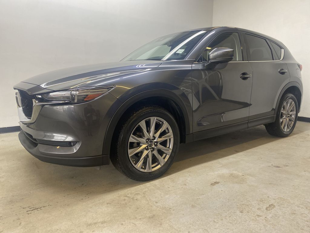 D.GREY 2019 Mazda CX-5 GT - Apple CarPlay, Heated/Cooled Seats, Leather Left Front Corner Photo in Edmonton AB