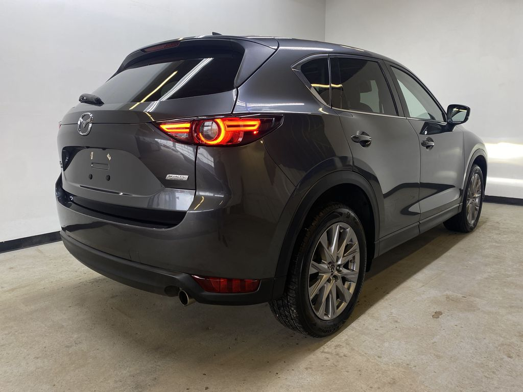 D.GREY 2019 Mazda CX-5 GT - Apple CarPlay, Heated/Cooled Seats, Leather Right Rear Corner Photo in Edmonton AB