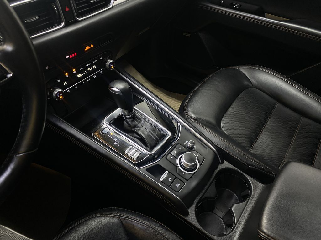 D.GREY 2019 Mazda CX-5 GT - Apple CarPlay, Heated/Cooled Seats, Leather Center Console Photo in Edmonton AB