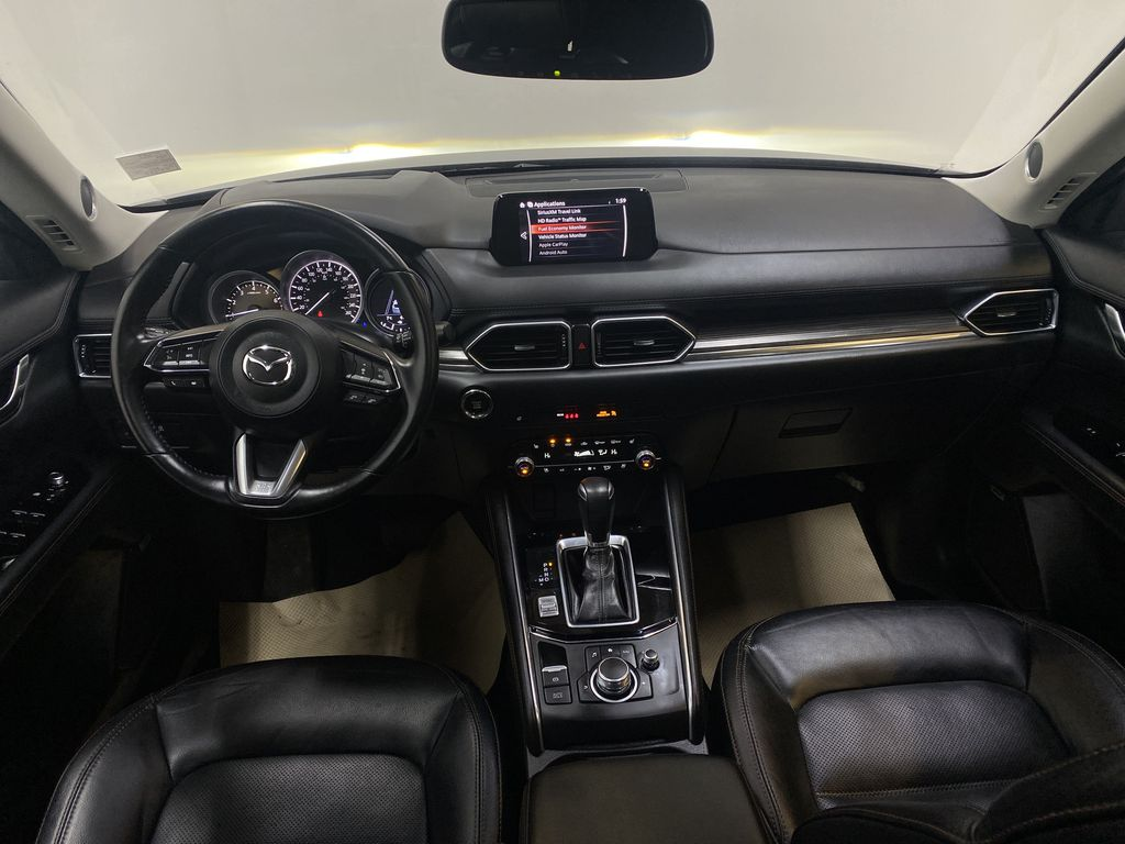 D.GREY 2019 Mazda CX-5 GT - Apple CarPlay, Heated/Cooled Seats, Leather Strng Wheel/Dash Photo: Frm Rear in Edmonton AB