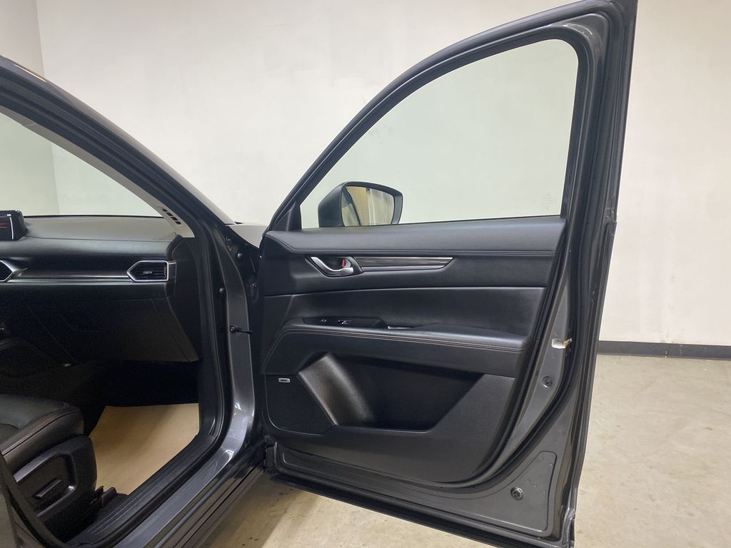 D.GREY 2019 Mazda CX-5 GT - Apple CarPlay, Heated/Cooled Seats, Leather Right Front Interior Door Panel Photo in Edmonton AB