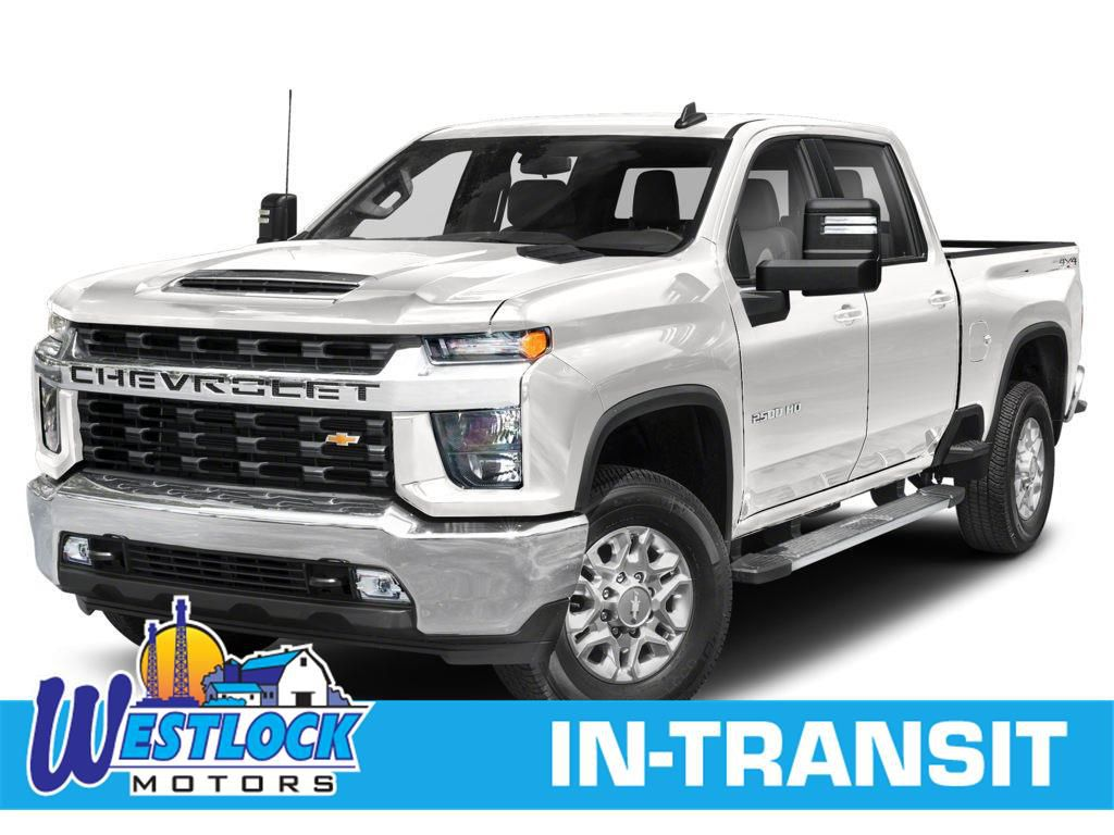White 2021 Chevrolet Silverado 2500HD