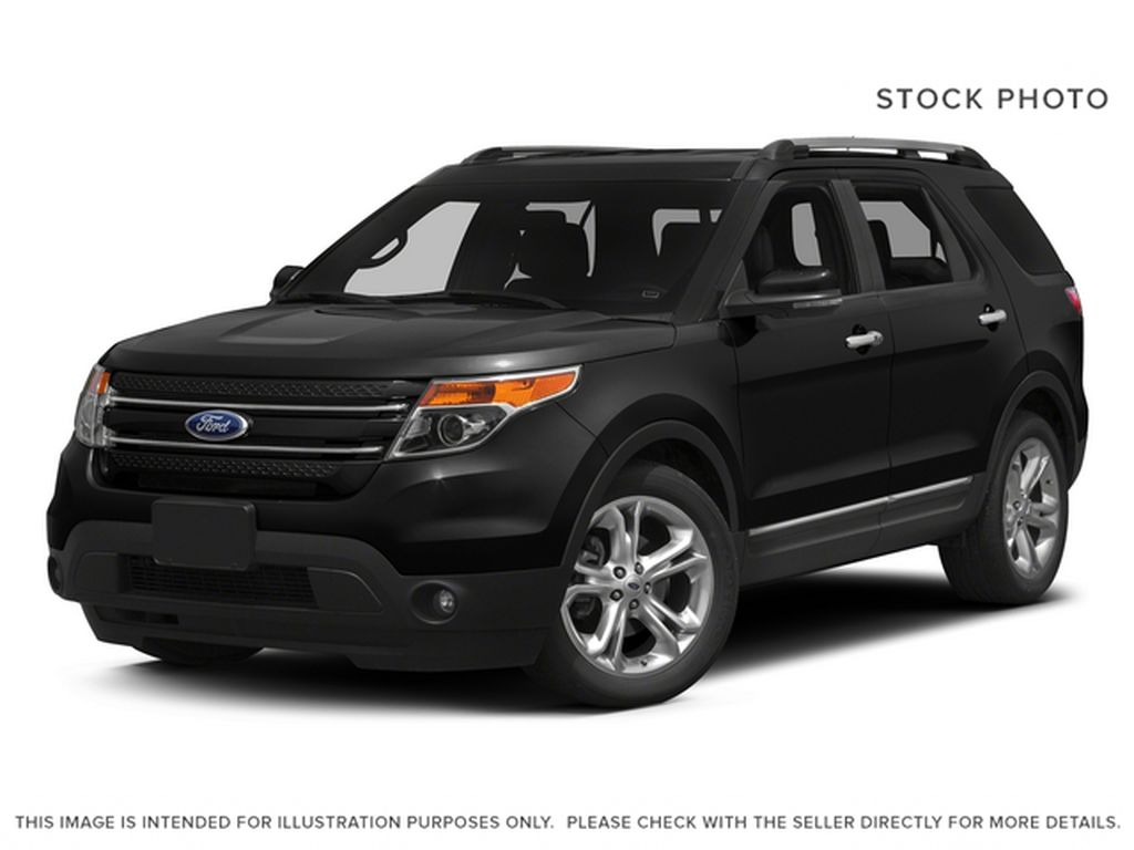Black[Tuxedo Black Metallic] 2015 Ford Explorer Limited AWD