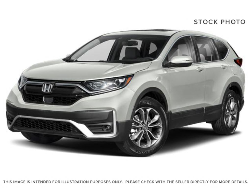 White[Platinum White Pearl] 2020 Honda CR-V EX-L AWD