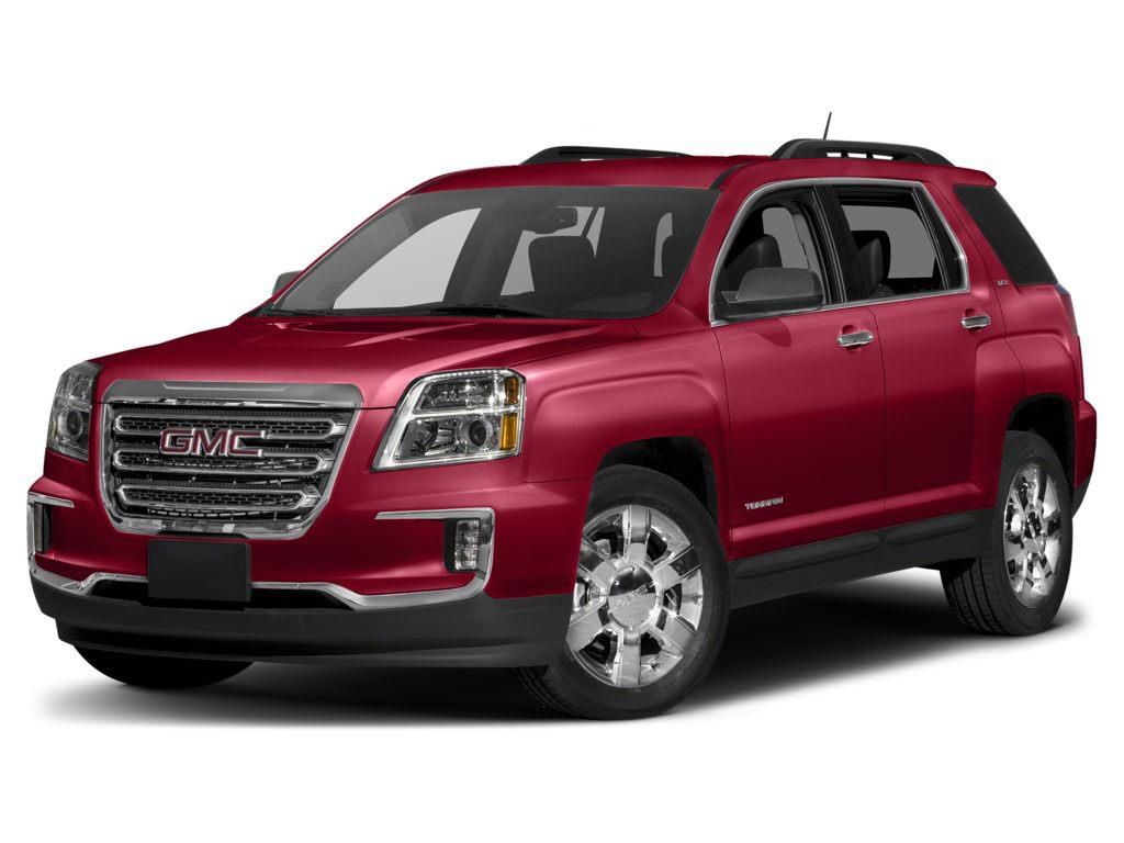 Red 2017 GMC Terrain