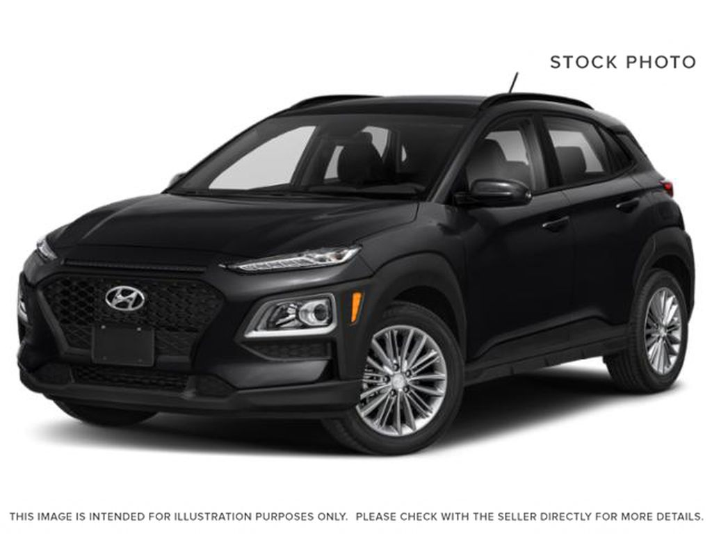 Black[Phantom Black] 2018 Hyundai Kona 2.0L Preferred  FWD