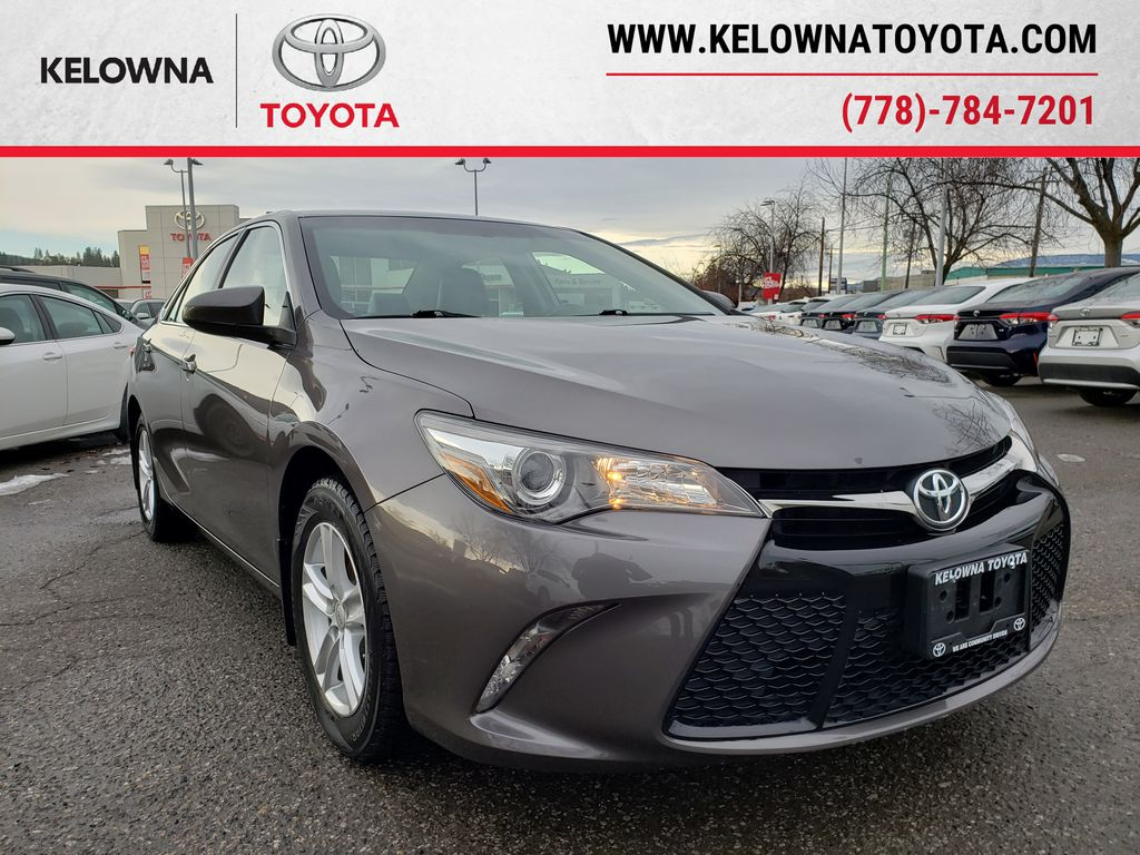 Charcoal 2017 Toyota Camry