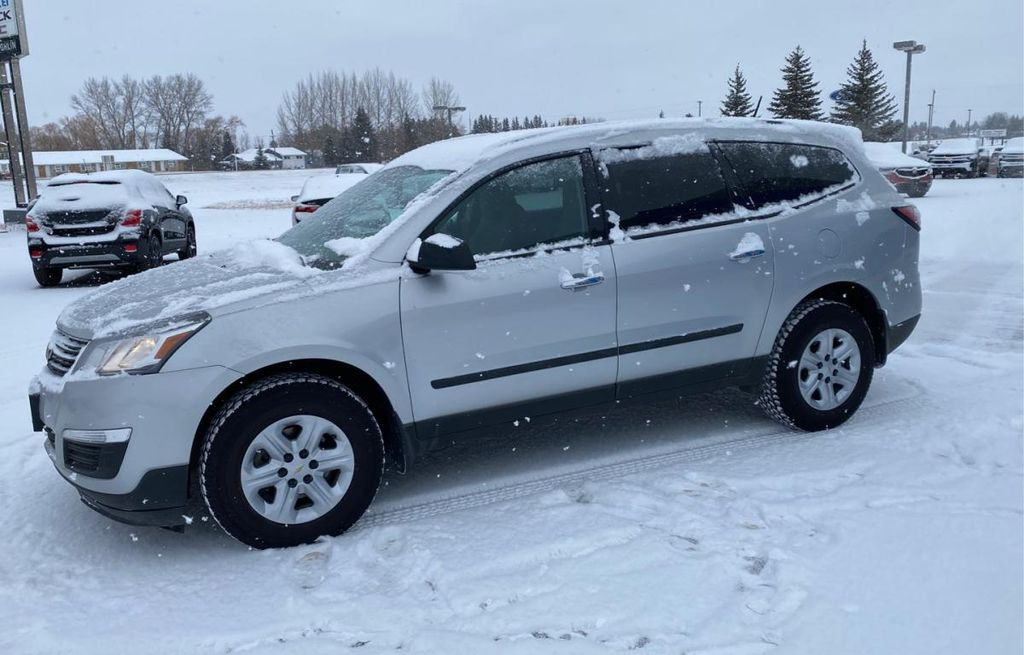 Gray 2017 Chevrolet Traverse AWD 4dr LS *AC* Cruise Control* Backup Camera*