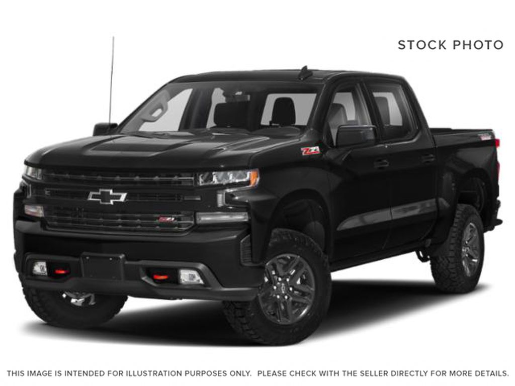 Black[Black] 2021 Chevrolet Silverado 1500 LT Trail Boss