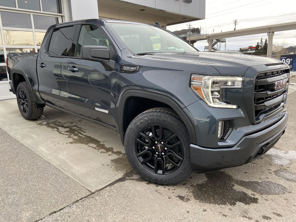 Gray[Dark Sky Metallic] 2021 GMC Sierra 1500 Elevation