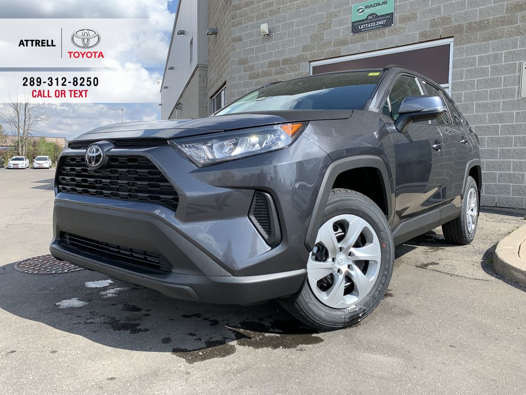 01G3 Magnetic Grey Metallic 2021 Toyota RAV4 FWD LE Standard Package Z1RFVT AM