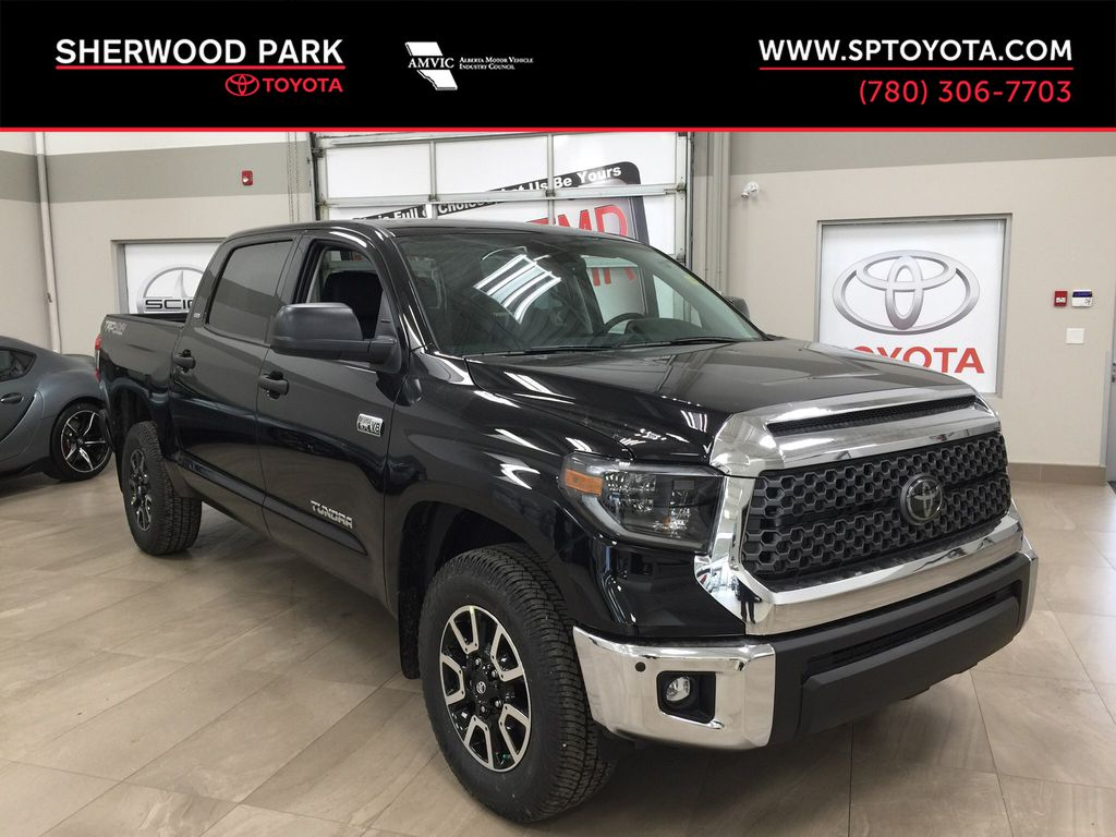 Black[Midnight Black Metallic] 2021 Toyota Tundra TRD Off-Road Premium