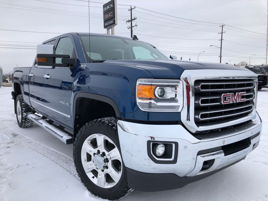 Blue[Stone Blue Metallic] 2018 GMC Sierra 2500HD