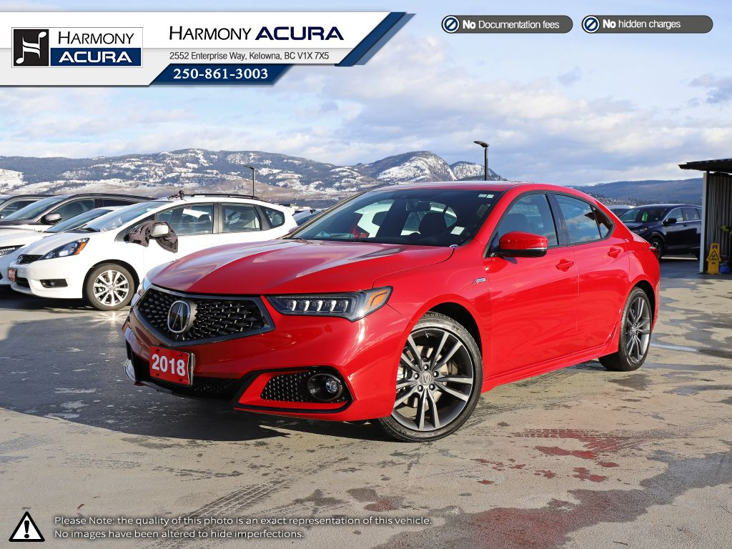 Red - San Marino Red 2018 Acura TLX