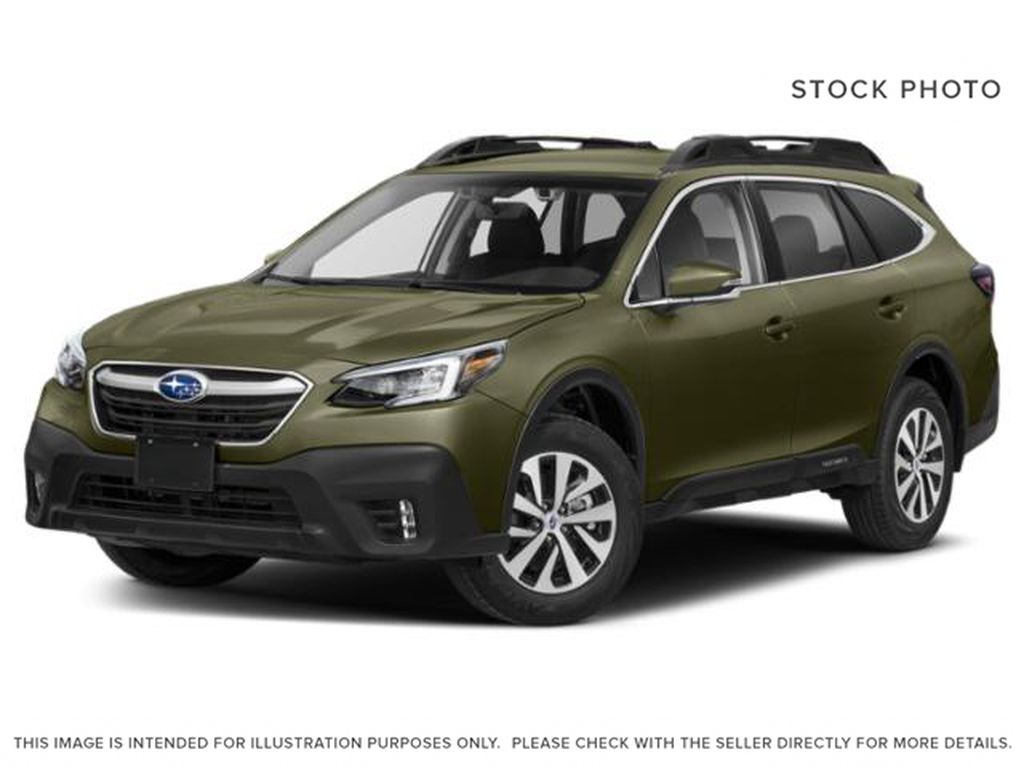 Red 2021 Subaru Outback