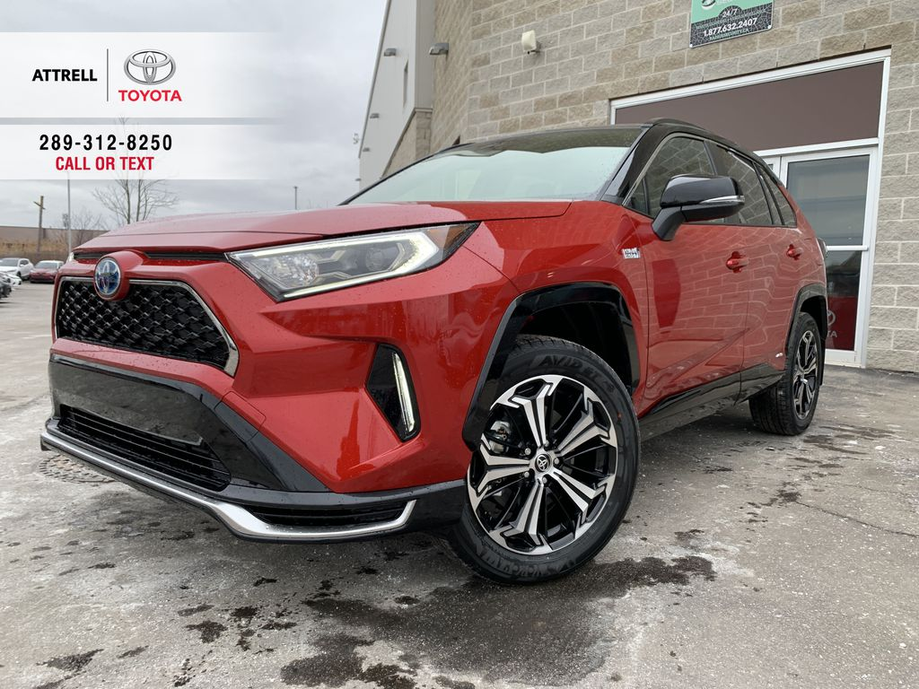 Red 2021 Toyota RAV4 Prime XSE Package GB4FVT AA