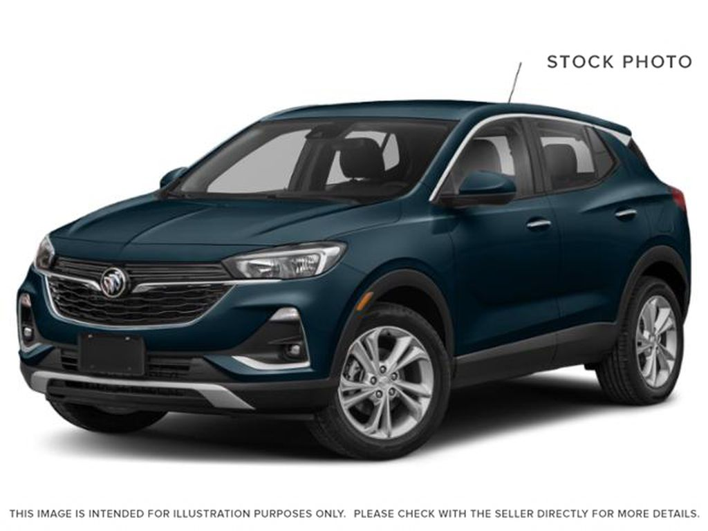 Deep Azure Metallic 2021 Buick Encore GX