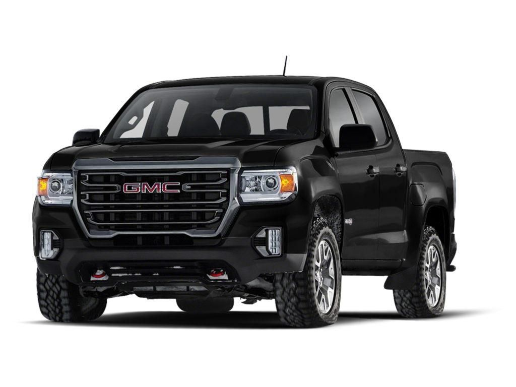 Black 2021 GMC Canyon