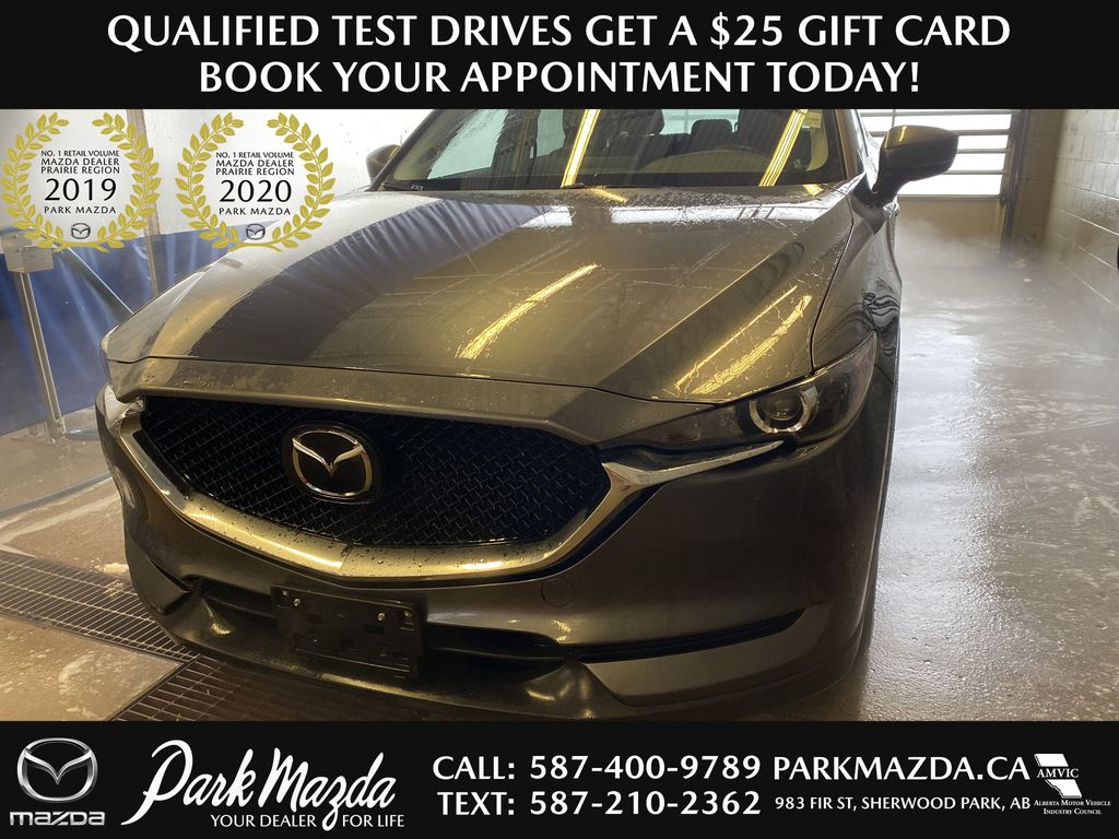 GREY 2020 Mazda CX-5 GS AWD -