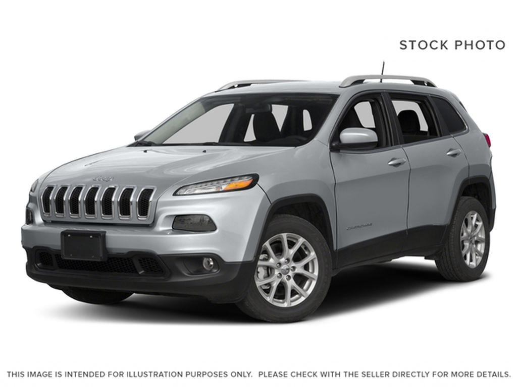 Red 2017 Jeep Cherokee