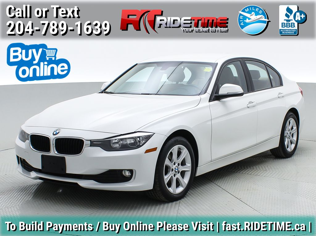 White[Alpine White] 2014 BMW 3 Series 320i xDrive - Leather, Heated Seats, Bluetooth