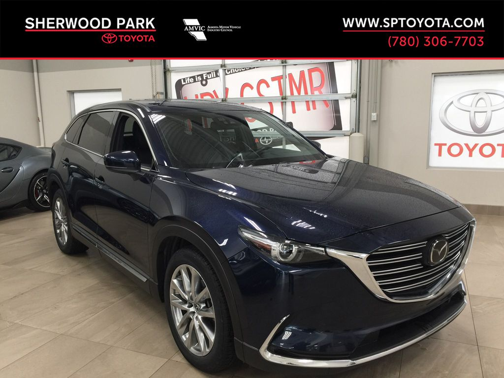 Blue[Deep Crystal Blue Mica] 2017 Mazda CX-9 GT AWD