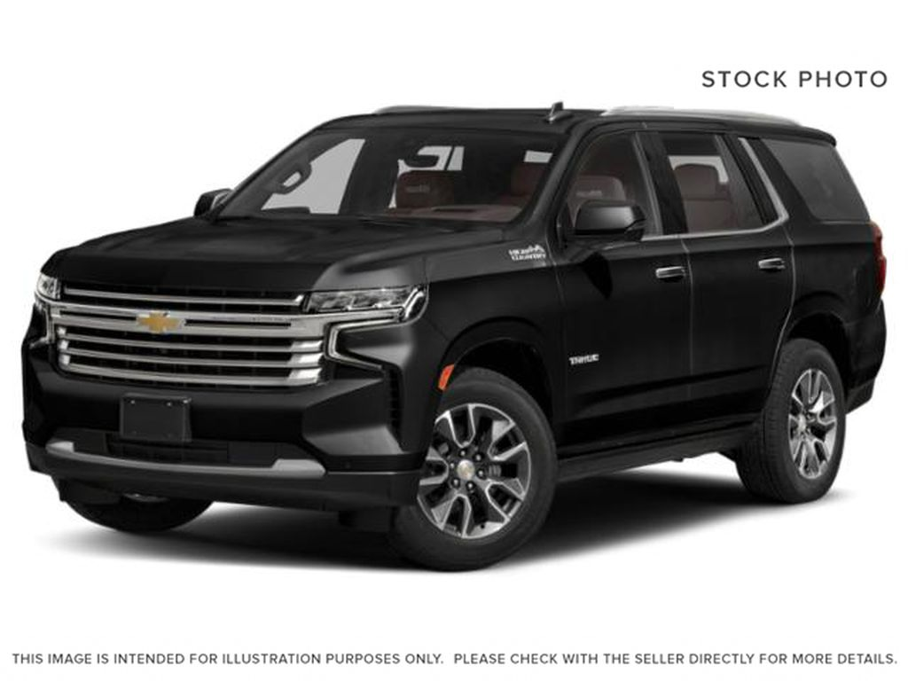 Black[Black] 2021 Chevrolet Tahoe High Country