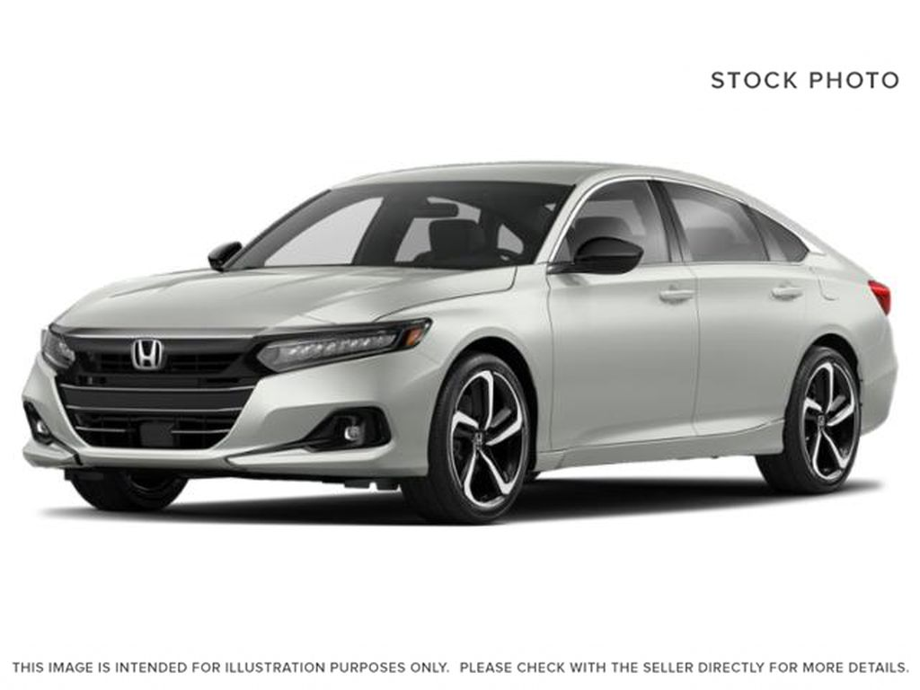 WHITE/NH-883P 2021 Honda Accord Sedan