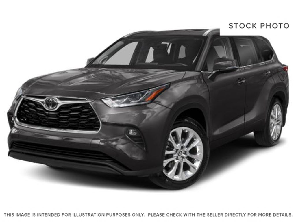 Gray[Magnetic Grey Metallic] 2021 Toyota Highlander