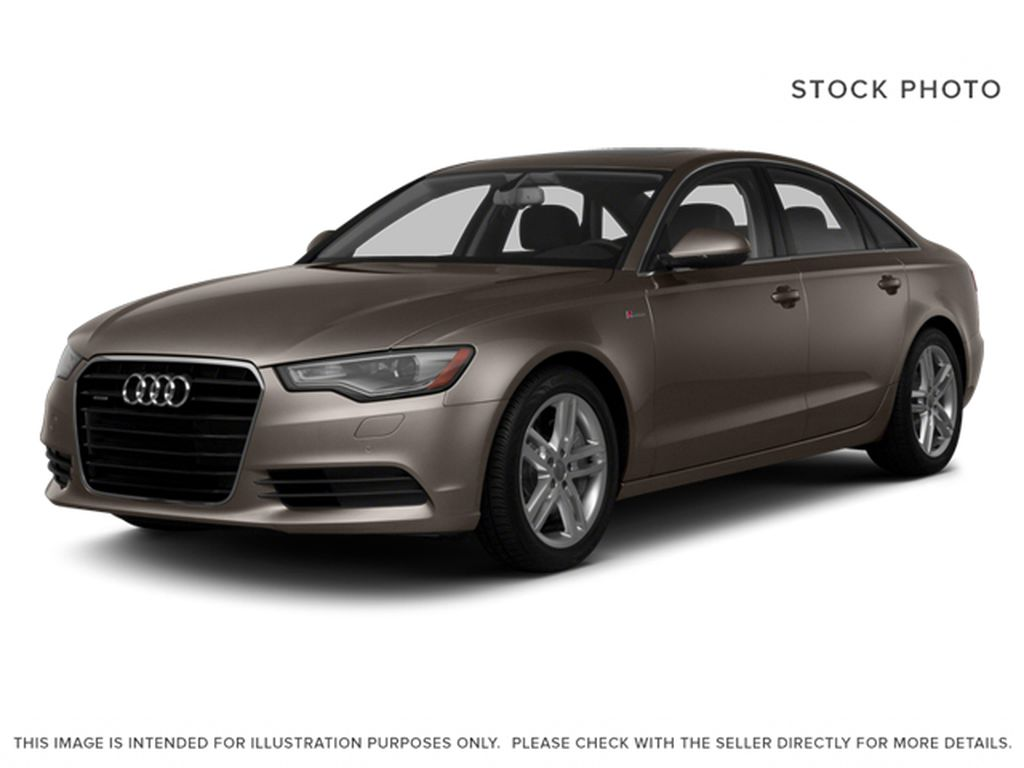 Gray[Dakota Gray Metallic] 2014 Audi A6 3.0L TDI Technik AWD
