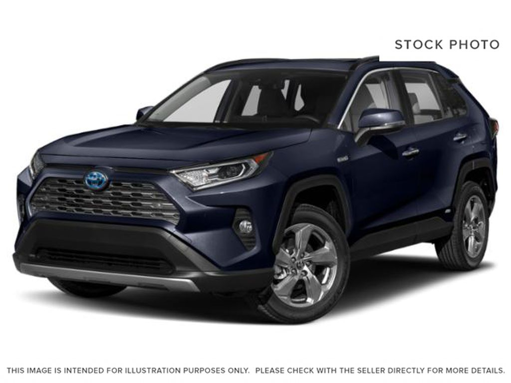 Blue[Blueprint] 2021 Toyota RAV4 Hybrid Limited
