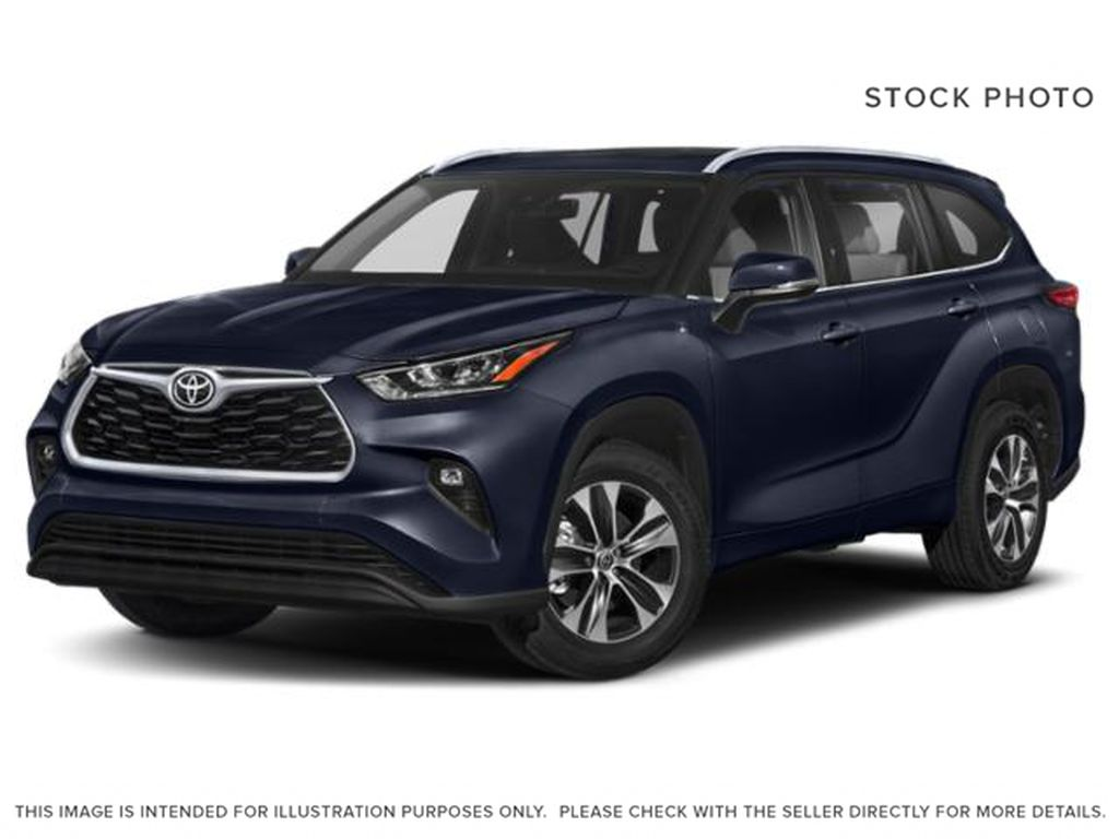 Blue[Blueprint] 2021 Toyota Highlander XLE