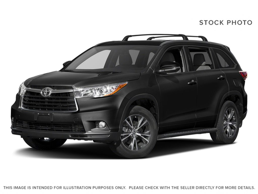 Black[Midnight Black Metallic] 2016 Toyota Highlander